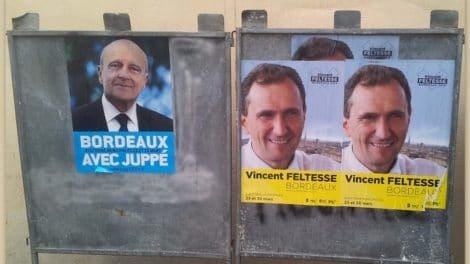 Alain Juppé vs Vincent Feltesse/ 2104