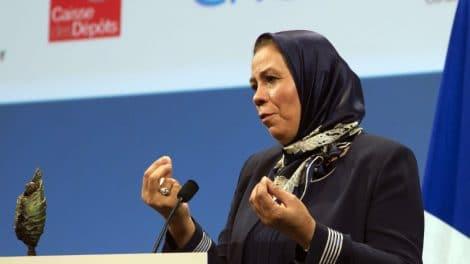 Latifa Ibn Ziaten, la mère d'une victime de Mohamed Merah - Jacques Brinon - AFP