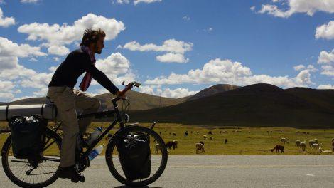 Siméon Baldit de Barral et Alexandre Haslé de Barral, partis 14 mois voyager autour du monde à vélo