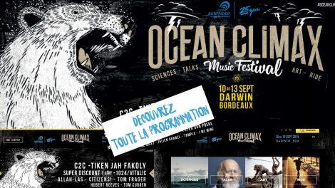 Un Festival musical à Bordeaux pour sauver les oceans