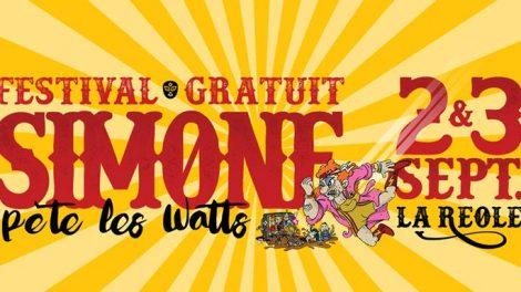 Festival Simone pete les watts Jugeote