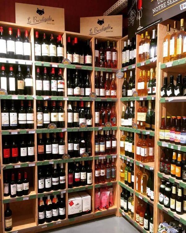 biocoop-chartrons-place-to-be-cave vins et bières bio-