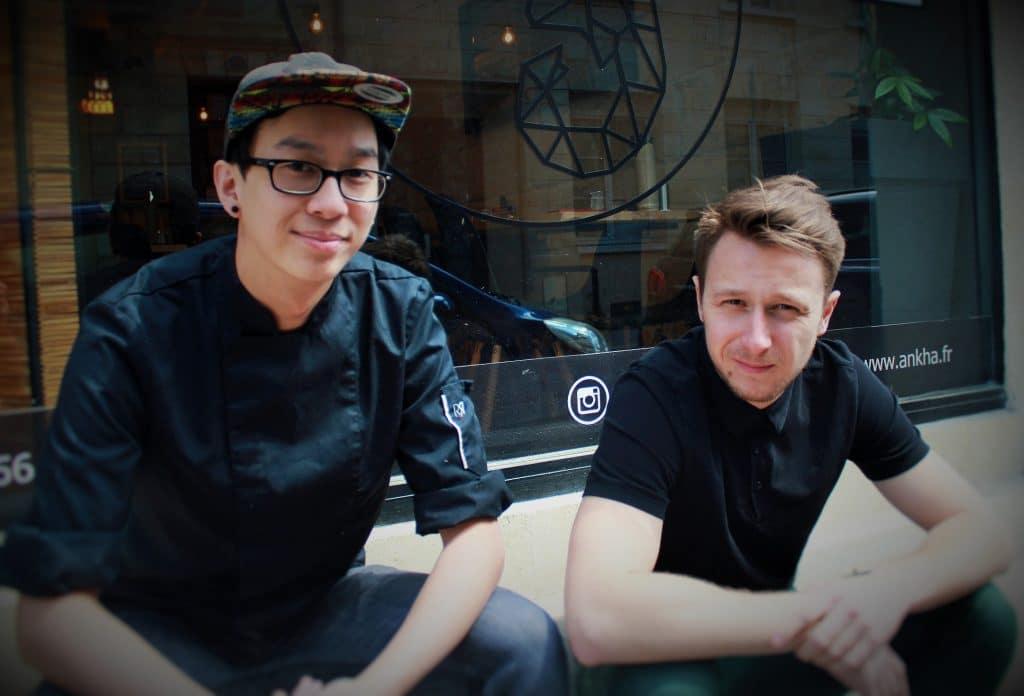 Gilles et Valentin Anh Kha, la fusion-food bienveillante place Gambetta Bordeaux