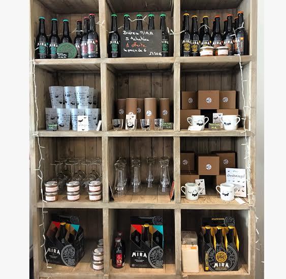 Biere, pate, sirop, goodies, tout est local et artisanal chezDBD