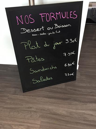 Les formules et les tarifs plats du jour pour faire une pause aux Chartrons chez Dis Bonjour à la Dame