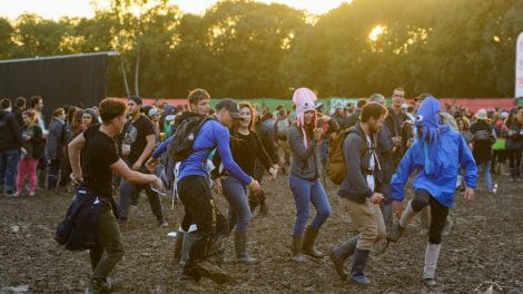 Garorock 2017 and the mud