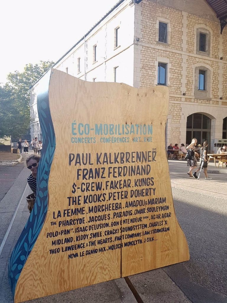 Du 7 au 10 septembre ecomobilisation à Bordeaux et programmation musicale high level