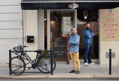 Arnaud Mateo et Maxence Celerier aux fourneaux de Nohos'Deli Chartrons place to be