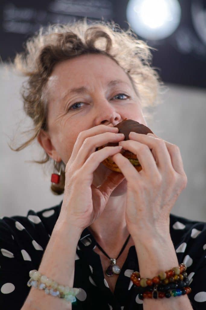 Noho's Deli et son succulent burger vegetarien special serial blogueuse par Laura Van Puymbroeck