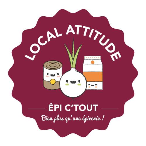 Un nouveau logo pour le projet d'épicerie solidaire et de jardin partagé, Local Attitude
