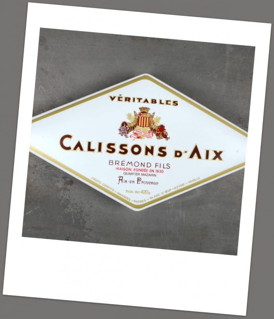 Les Confiseries fabriquées à Aix en Provence que l'on retrouve Maison Brémond à Bordeaux.