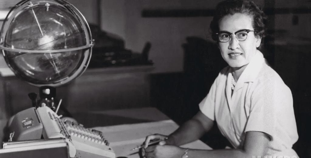 Katherine Johnson, femme, noire et mathématicienne de génie
