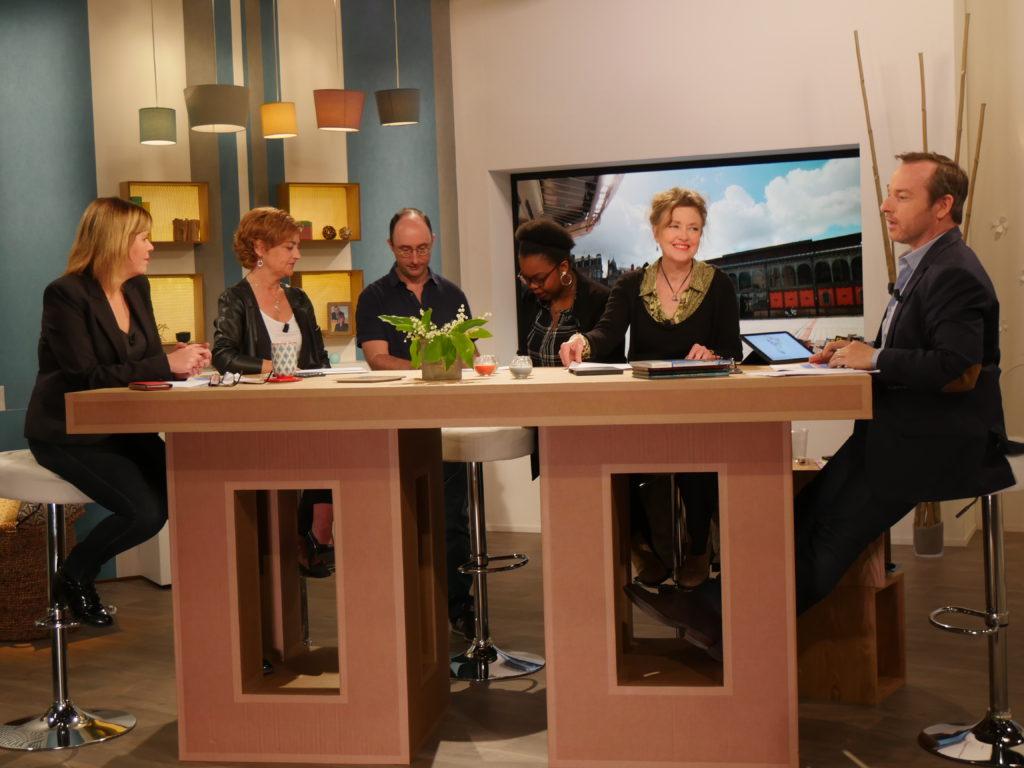 3ème émission pour Isabelle Camus Serial blogueuse à 9H50 le matin France 3 Nouvelle Aquitaine