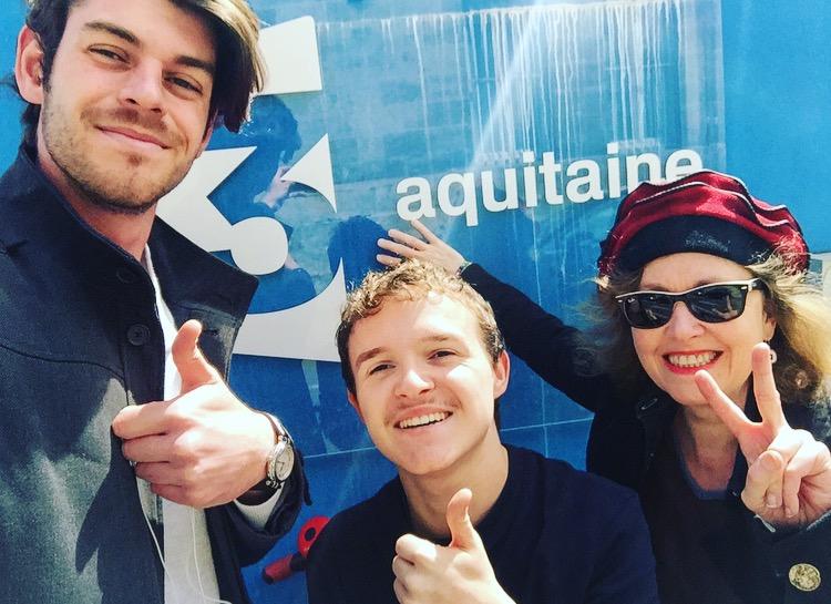 Visite de France 3 Nouvelle Aquitaine
