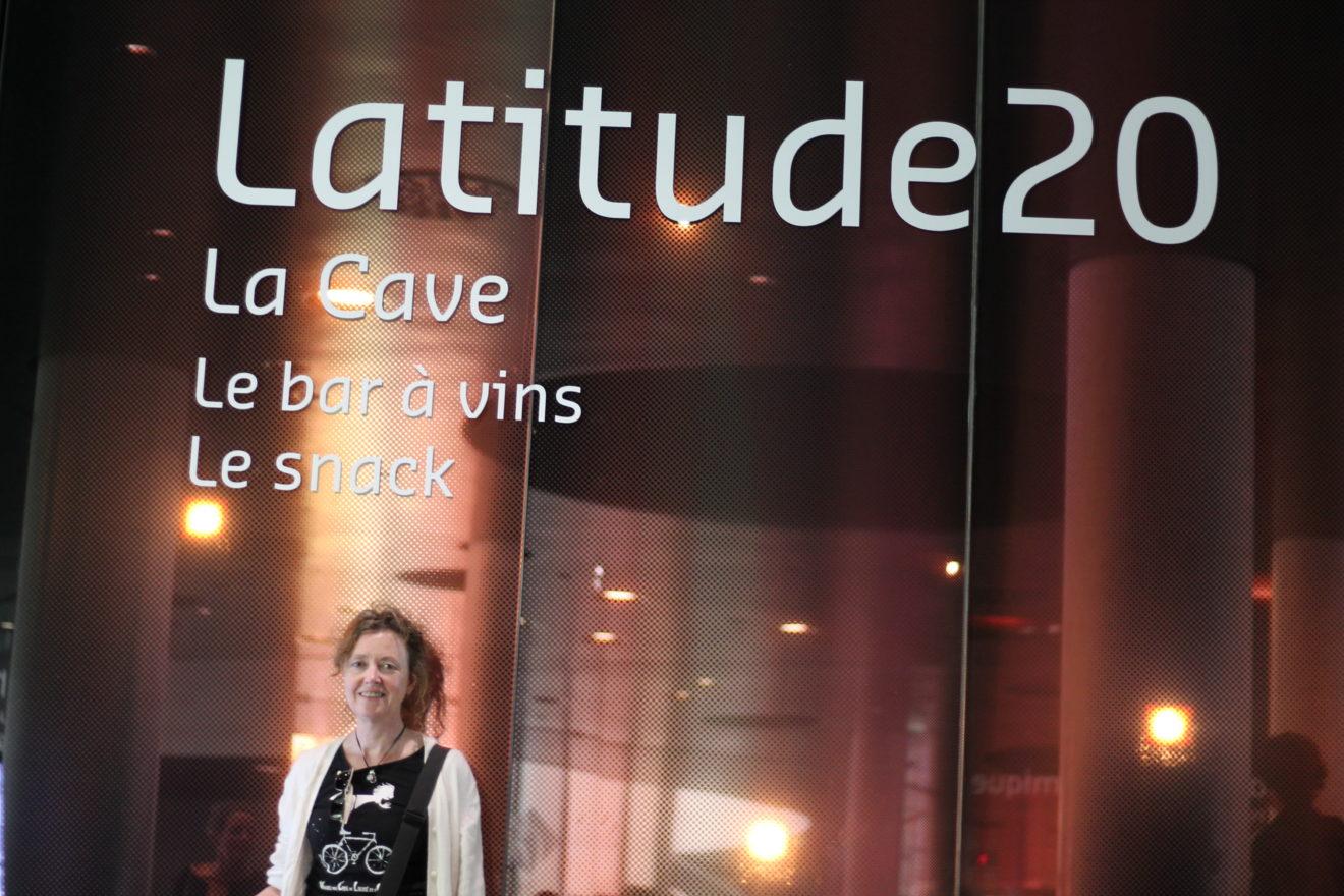 Latitude 20 la brasserie de la cite du vin à Bordeaux