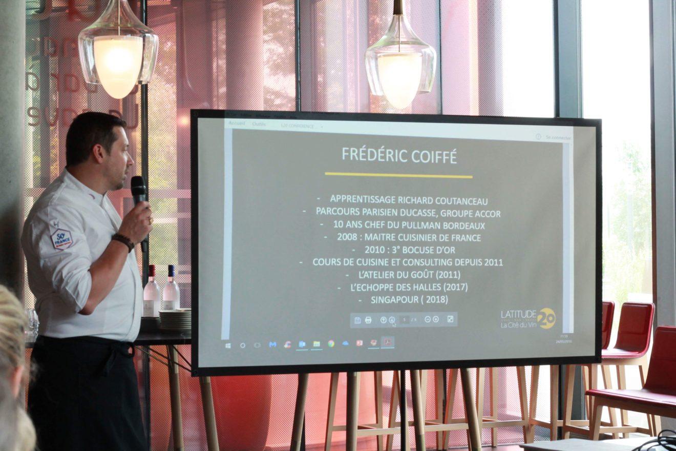 Frédéric Coifée chef consultant à la brasserie Latitude 20