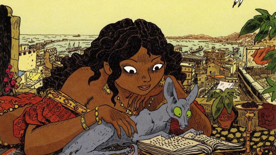Le Chat du Rabbin, une bande dessinée de Joann Sfar. Le chat d'un rabbin d'Alger se met à parler et demande alors à faire sa Bar-Mitsva.
