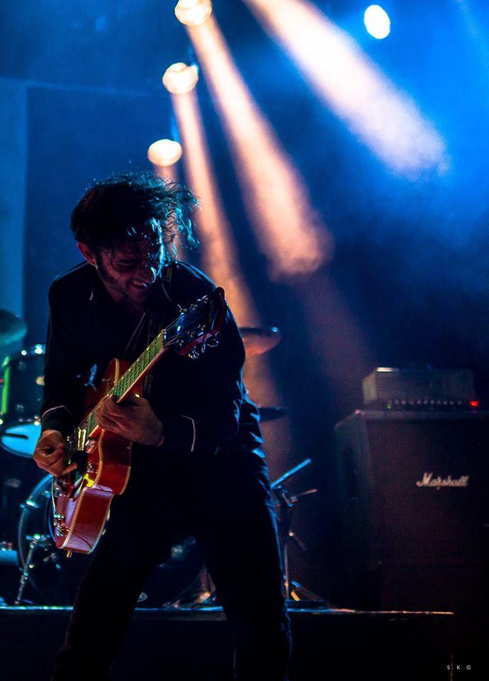 Alexis Favraud chanteur et guitariste de Smogs & Tacos