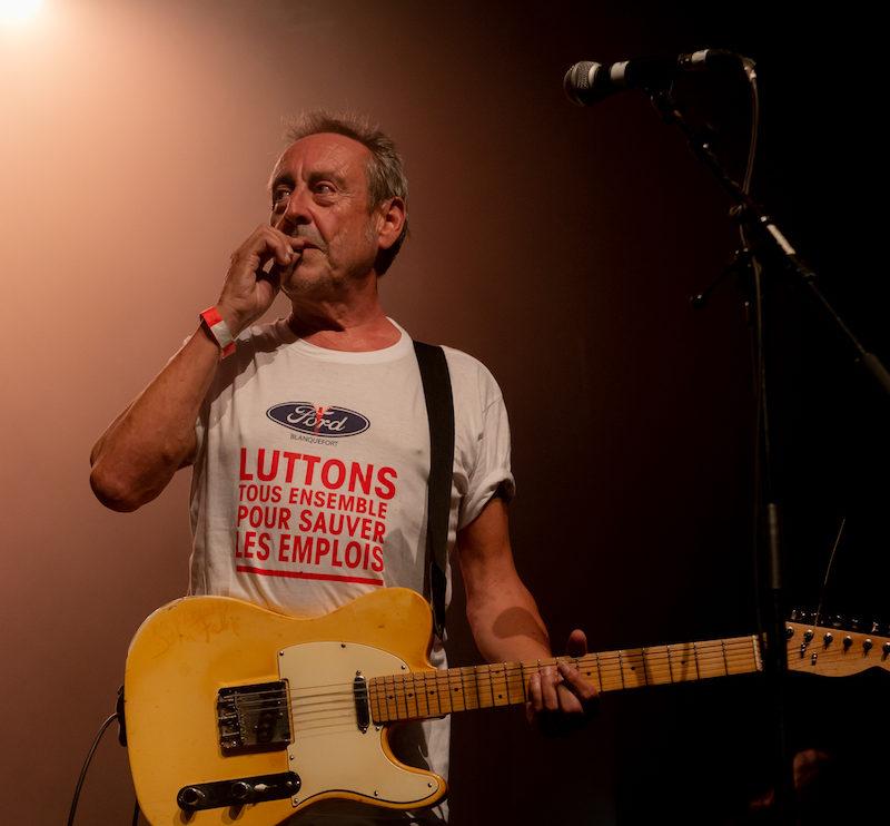 José Ruiz fondateur et guitariste de Stilettos
