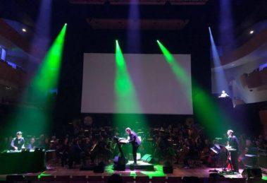 Laurent Couson on stage à l'auditorium de Bordeaux