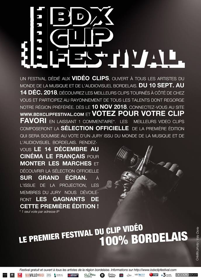 Première édition du BDX CLIP Festival
