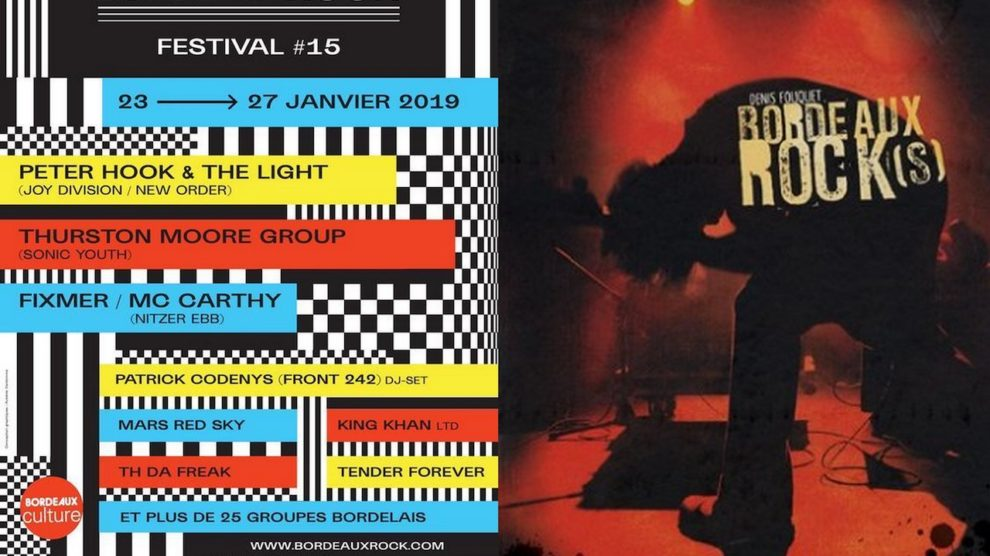 Le Bordeaux Rock Festival en concerts et en livre