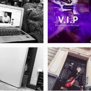 Photos en série de ma vie de blogueuse en série