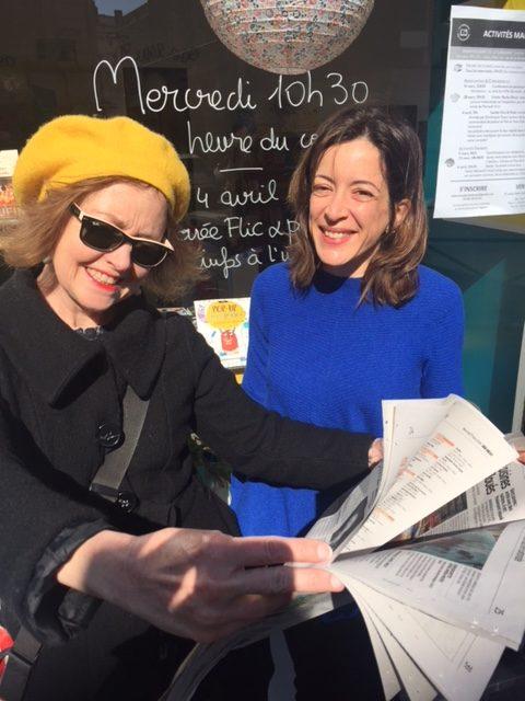 Soirée flic et polar à la librairie des Chartrons, l'idée de sortie d'Isabelle Camus