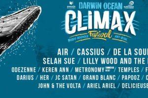 Darwin Climax Festival J+3 = de l'éclectisme pour sauver les océans et flatter nos tympans