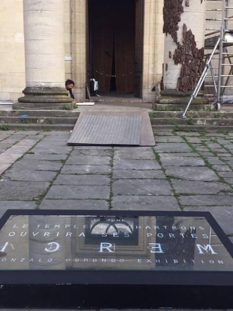 Work art in progress au Temple des Chartrons