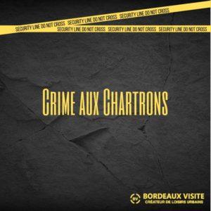 Les Chartrons scène de faux crime pour réelle visite touristique