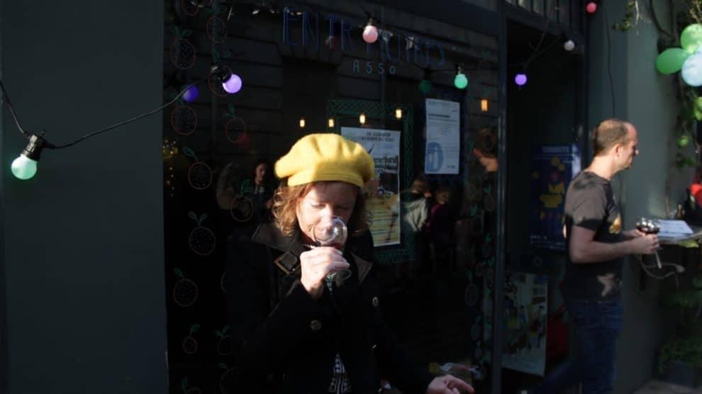 Soirée vin et rap Entr-Autres / David Large