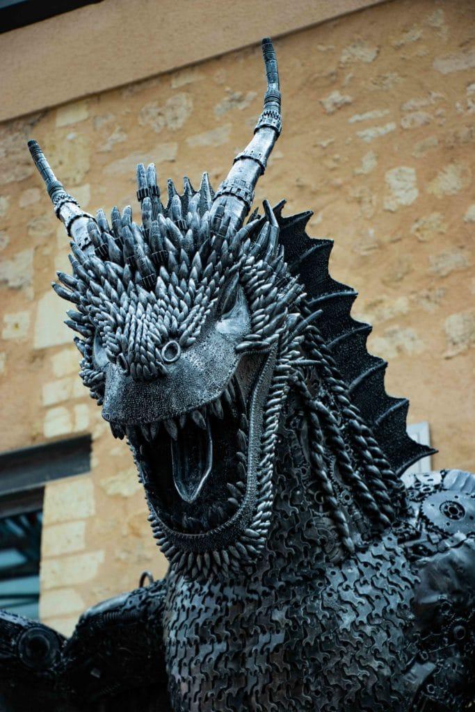 Un des 3 dragons de Game of Thrones