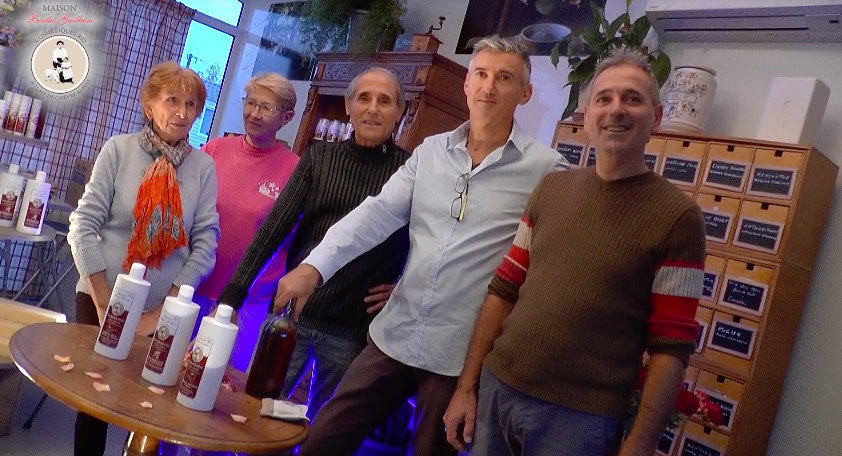Un réel savoir-faire artisanal et familial dans la famille de la Maison Berthe Guilhem