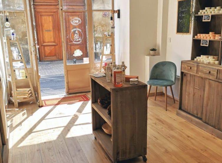 La boutique de la Maison Berthe Guilhem