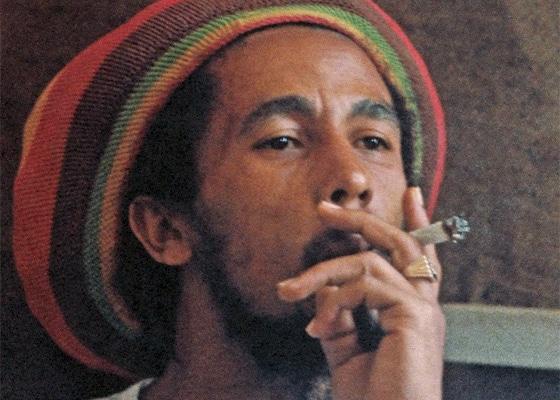 Bob Marley, king of the reggae, icone, pétard, reggae man, chanteur