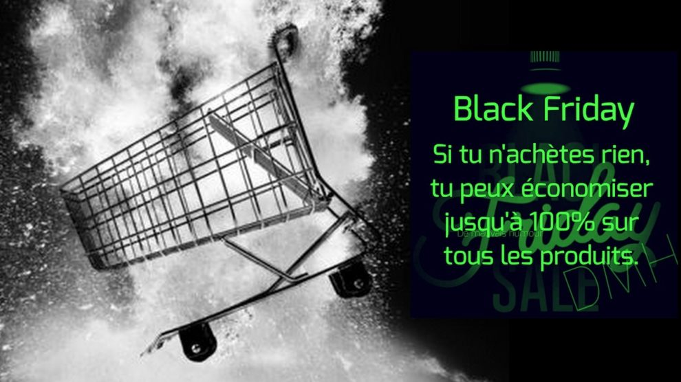 Alternative à la fièvre du black friday