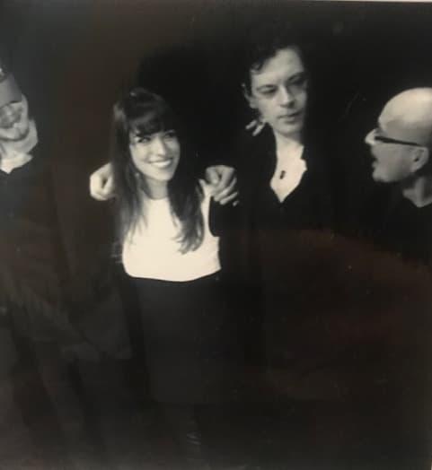 Audrey et Benjamin Biolay