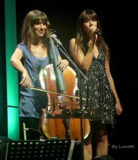 Audrey et Nolwenn Leroy