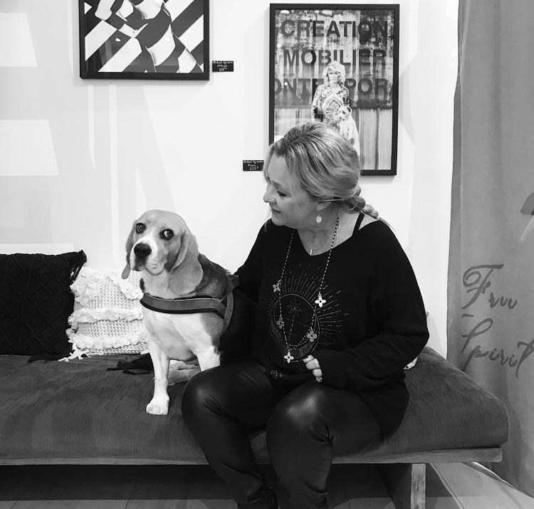 Nana la beagle adorée de Myriam