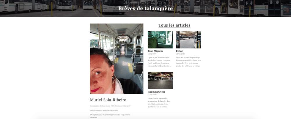 Le blog de Muriel Sola-Ribeiro
