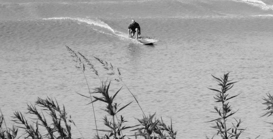 Jérome Cordoba le champion free surfer de mascaret