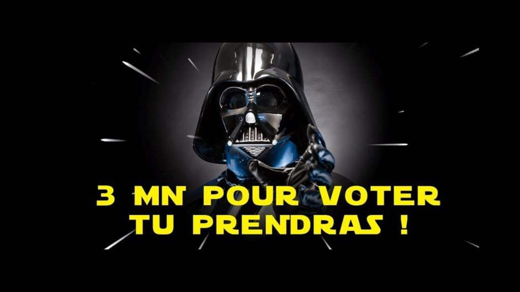 Pour la cause animale, voter, masqué, mais voter