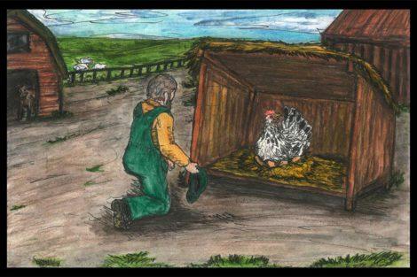 Le conte de la poule aimée