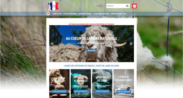 Vente de laine en ligne