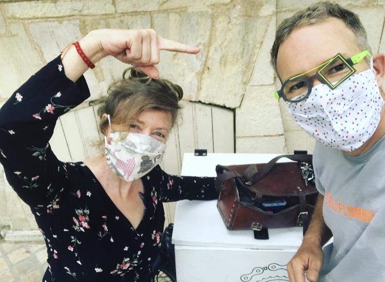 Les lunettes extraordinaires du vélo-plombier de Bordeaux