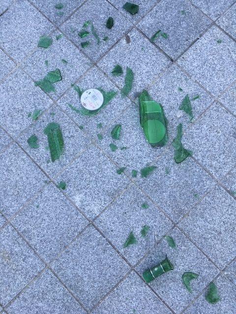 Avec Pic'verre le verre brisé c'est terminé