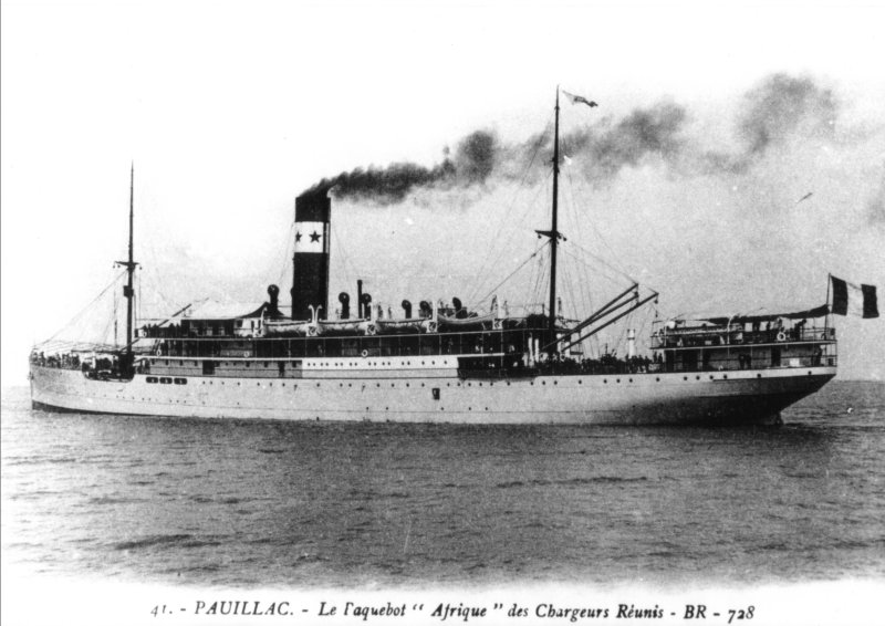 L'Afrique coulé en 1920