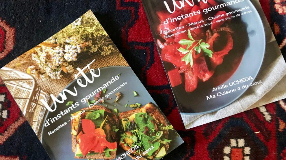 Deux livres de cuisine pour des instants gourmands