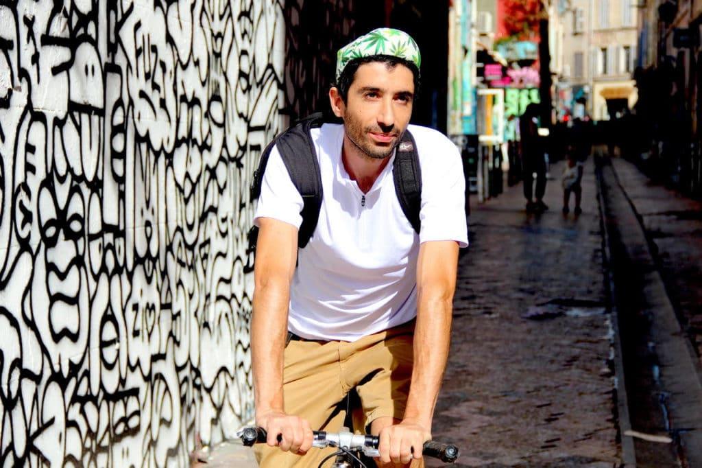 Morgan Ben Haïm, le concepteur de CBD Bicyclette à Bordeaux